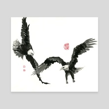 Eagle - 17 - Canvas by River Han