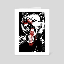 Blood Seal - Art Card by Katrina Zidichouski