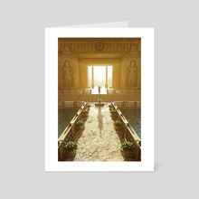 Entrance to the New World - Art Card by SageDog Studios