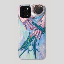 Red Nails - Phone Case by Nataliia Belozerova