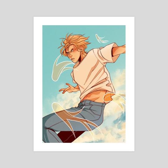 Fly Aslan by CJ Illustrate