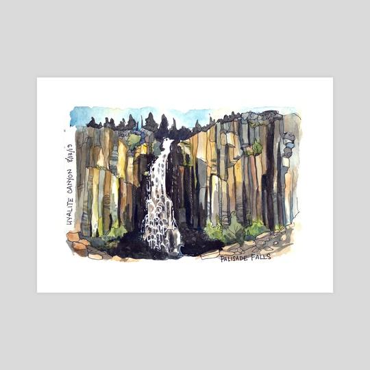 Palisade Falls  by Emily Martin