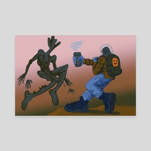 Vessel - Canvas by Brad Arrieta