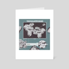 THOUGHTFORMS - Art Card by Zealot Art