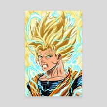 Super Saiyan 2 Goku - Canvas by Michael  O'Shea