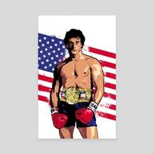 Rocky - Canvas by Nikita Abakumov