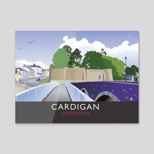 Cardigan, Ceredigion. Wales by MIKE TURTON