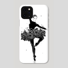 Floral dance - Phone Case by Balazs Solti