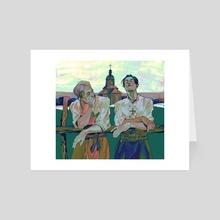 Eruri - Art Card by Anna Marek