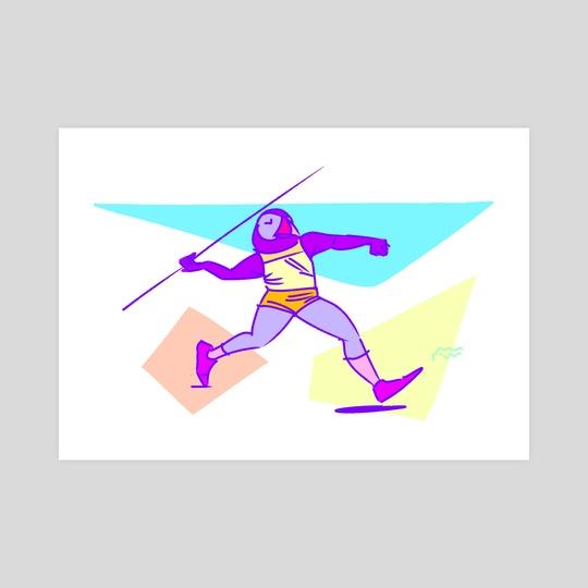 Javelin Toss by Kelly Rasmussen