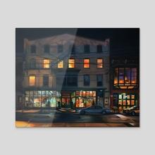 Window Shopping - Acrylic by Martha Wirkijowski