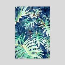 Rain + Leaves - Canvas by 83 Oranges