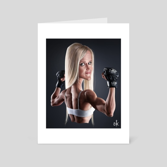 Holly Holm by Andre Koekemoer