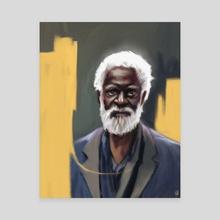 The Watcher - Canvas by Ladon Alex