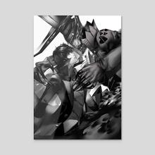Joker   Arsene - Acrylic by blazpu
