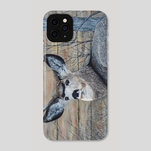 Mule Deer in the Brush - Phone Case by Brian Sloan