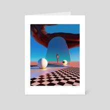 LUST - Art Card by David Alabo