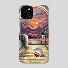 One sunset  - Phone Case by Jane Koluga