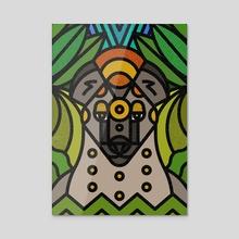Hyaenas - Acrylic by Caio Pires