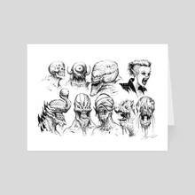 MONSTERS 04 - Art Card by Austen Mengler