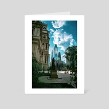Architectural Contrast - Art Card by Ken Black