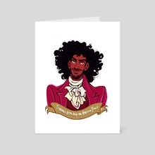 Thomas Jefferson - Art Card by NaomiMakesArt