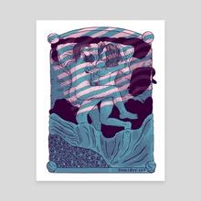 Summer Nights - Canvas by Skullboy
