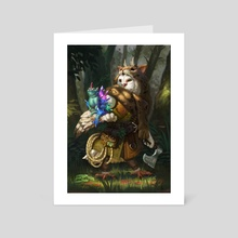 Swift Strig Ranger - Art Card by Christina Kraus