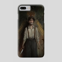 House of the Devil - Phone Case by Rudy Faber