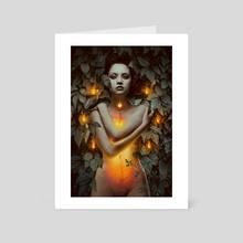 Womb - Art Card by tullius heuer