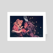 Catradora - Art Card by Keezy Young