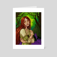 Hazel - Art Card by Days