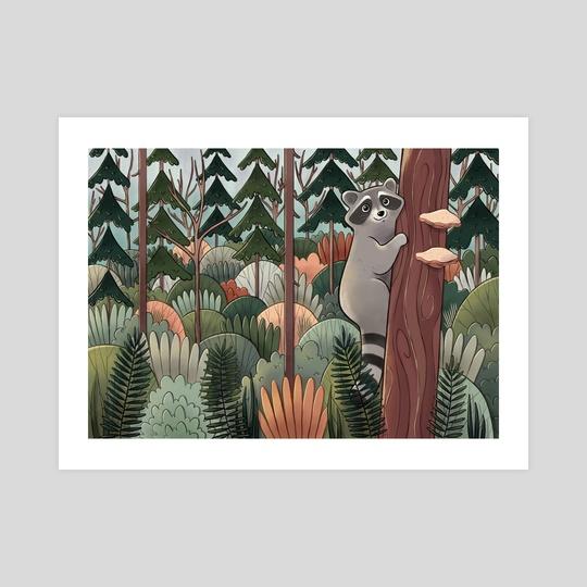 Woodland Adventure by Melissa Jan