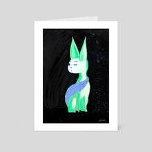 Cold + Sleepy - Art Card by sphiaeko