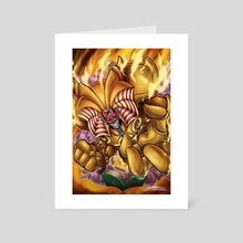 Exodia the Forbidden Toon - Art Card by Kraus Arts
