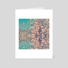 Magnolia  - Art Card by Sandrina  Hassany