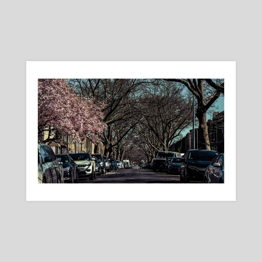 On The Streets Of New York City (2020-4-GNY-91) by Vlad Meytin