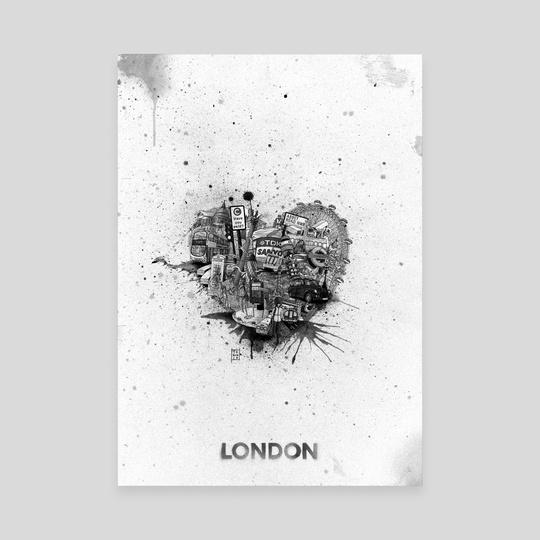 I Love London by iam toxi