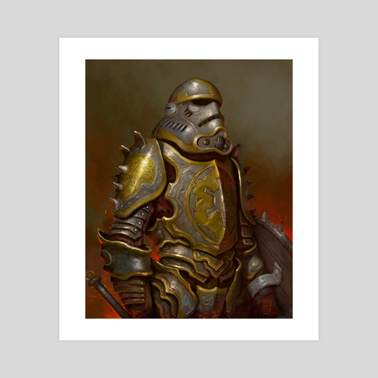 Medieval Stormtrooper by Ben Winfield