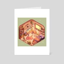 Nostalgia Room - Art Card by Mar