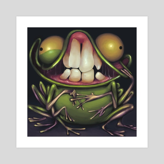 Crazy Frog by Charles Harris