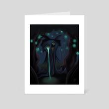 Owl Cultist - Art Card by Josh Murano