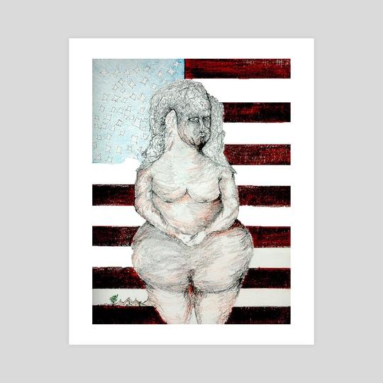 Uncle Sam's wife by Jorge Heilpern