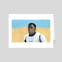 John Boyega  Star Wars: Episode VII   - Art Card by Jesse Harp