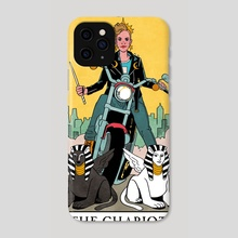 The Chariot - Modern Witch Tarot - Phone Case by Lisa Sterle