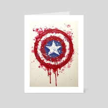 Defending America - Art Card by andrew garza