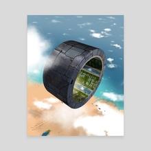 Tesa Beach - Canvas by Marcus Sterz