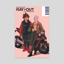 RAY=OUT SPRING EDITION - Canvas by Nelson Wu