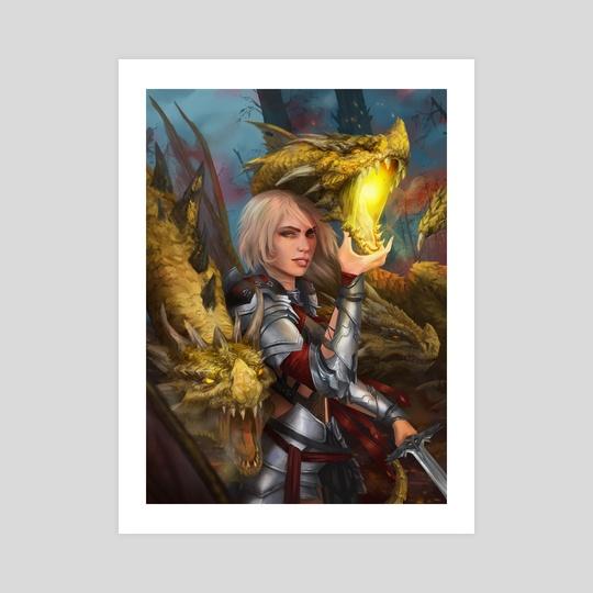Lady Warrior - Dragon Blood Pact by Alba Palacio