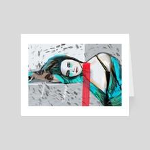 pretty liar meets her match - Art Card by Elizabeth Hinders